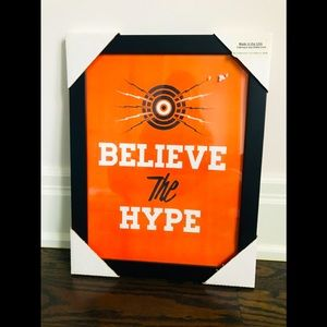 Believe The Hype Retro Art Unopened